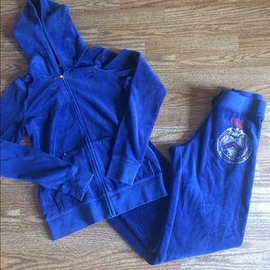 Juicy couture jump suit set sz 12